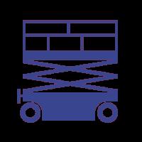 Schaarhoogwerkers-paars